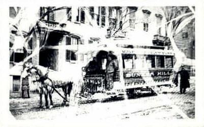 Repro- W. End St. Ry. - Misc, Massachusetts MA Postcard