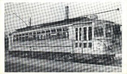 Reproduction - Subway Car - Misc, Massachusetts MA Postcard