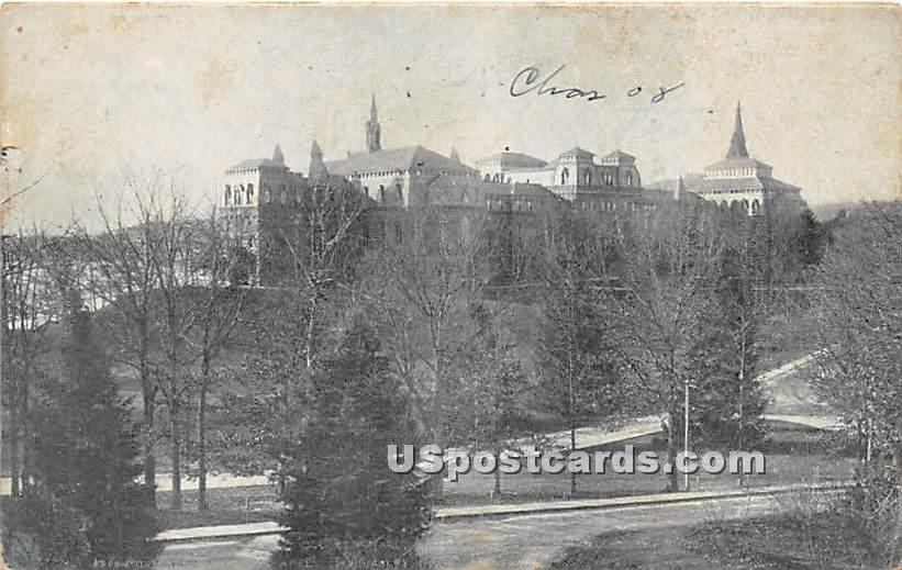 College Hall at Wellesley College - Massachusetts MA Postcard