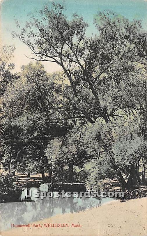 Hunnewell park - Wellesley, Massachusetts MA Postcard