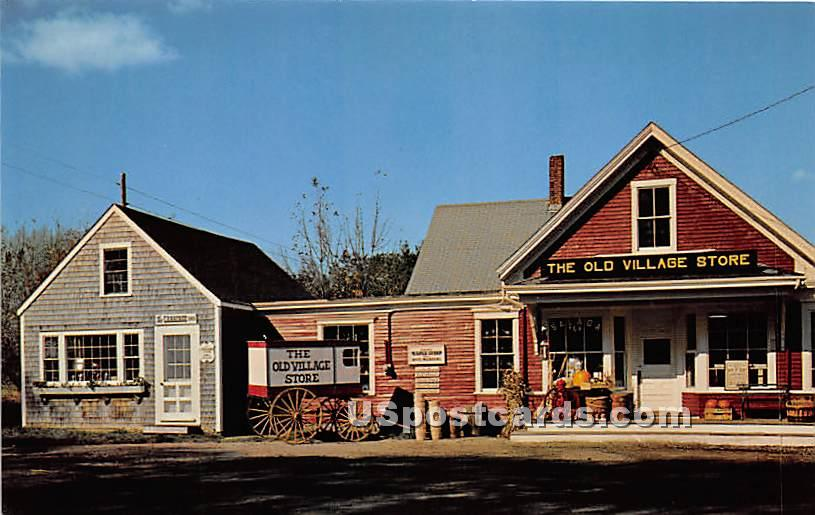The Old Village Store - West Barnstable, Massachusetts MA Postcard