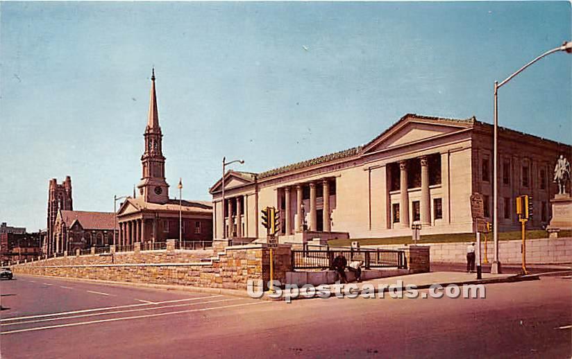 Wesley Methodist Church - Worcester, Massachusetts MA Postcard