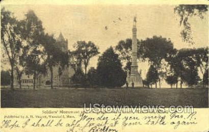 Congregational Church - Wakefield, Massachusetts MA Postcard