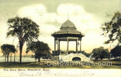 The Band Stand - Wakefield, Massachusetts MA Postcard