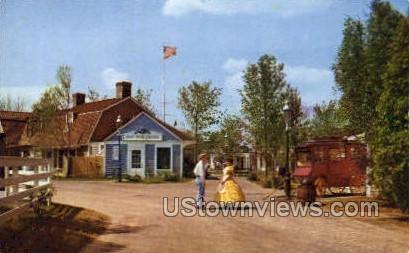 Colonial Settlers, Pleasure Island - Wakefield, Massachusetts MA Postcard