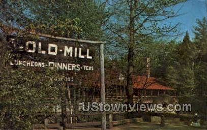 The Old Mill - Westminster, Massachusetts MA Postcard