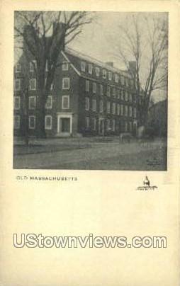 The Maynards - Waban, Massachusetts MA Postcard