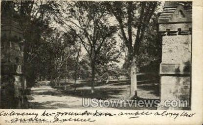 Gate - Wellesley, Massachusetts MA Postcard