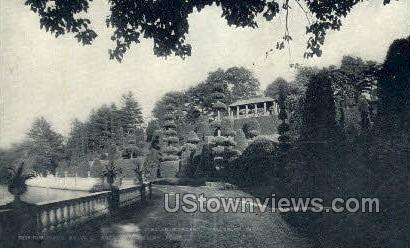 Italian Gardens - Wellesley, Massachusetts MA Postcard