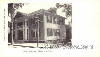 Bank Building - Wareham, Massachusetts MA Postcard