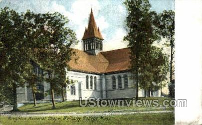 Pomeroy Hall, Wellesley College - Massachusetts MA Postcard