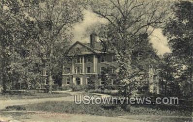 Wilder Hall, Welesley College - Wellesley, Massachusetts MA Postcard