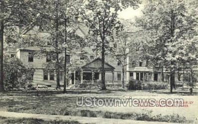 Norumbega Cottage - Wellesley, Massachusetts MA Postcard