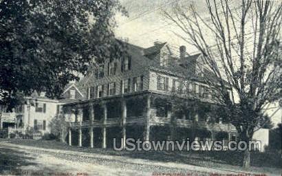 Elliott House - Wellesley, Massachusetts MA Postcard