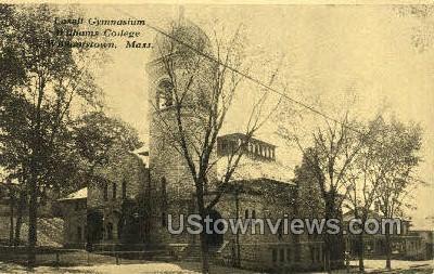 Lasell Gymnasium, Williams College - Williamstown, Massachusetts MA Postcard