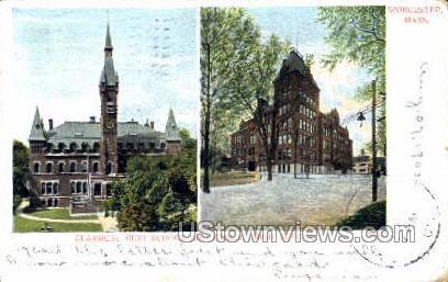 Classical High School - Worcester, Massachusetts MA Postcard