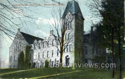 Polytechnical Institute - Worcester, Massachusetts MA Postcard
