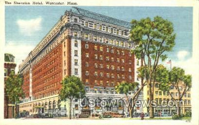 The Sheraton Hotel - Worcester, Massachusetts MA Postcard