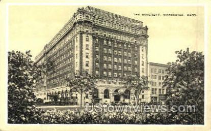 The Bancroft - Worcester, Massachusetts MA Postcard