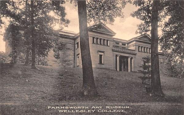 Farnsworth Art Museum Wellesley, Massachusetts Postcard