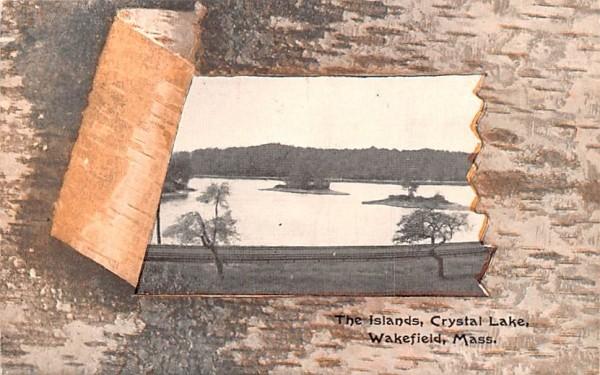 The Islands Wakefield, Massachusetts Postcard