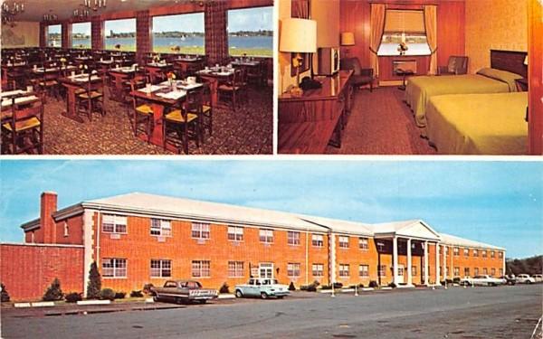 Lord Wakefield Motor Hotel Massachusetts Postcard