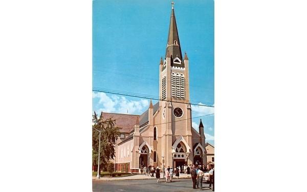 St. Joseph's Roman Catholic Church Wakefield, Massachusetts Postcard