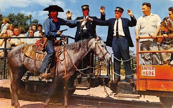 Great Train Robbery Wakefield, Massachusetts Postcard