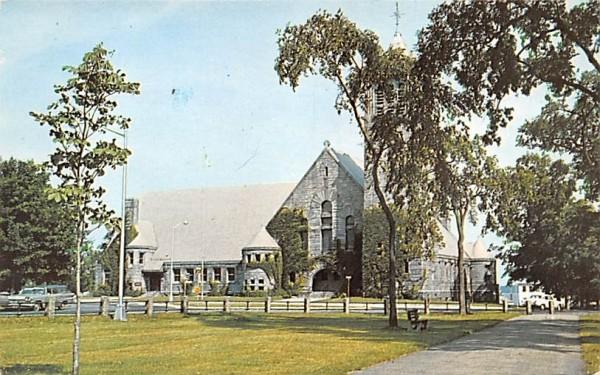 First Congregational Church Wakefield, Massachusetts Postcard