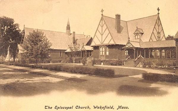 The Episcopal Church Wakefield, Massachusetts Postcard