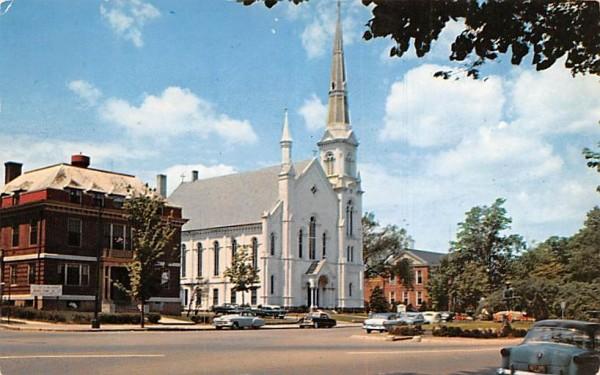 First Baptist Church Wakefield, Massachusetts Postcard