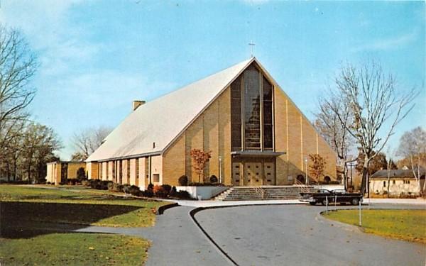 St. Florence's Romas Catholic Church Wakefield, Massachusetts Postcard