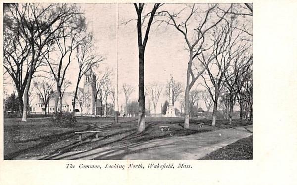 The Common Wakefield, Massachusetts Postcard