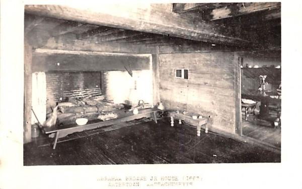 Abraham Browne Jr. House Watertown, Massachusetts Postcard