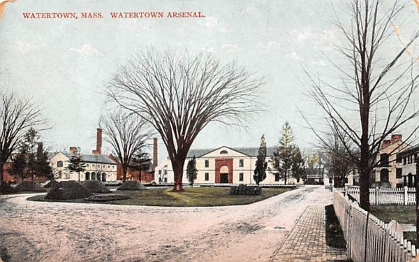 Watertown Arsenal Massachusetts Postcard