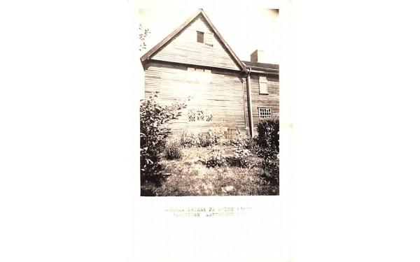 Abraham Browne Jr House Watertown, Massachusetts Postcard