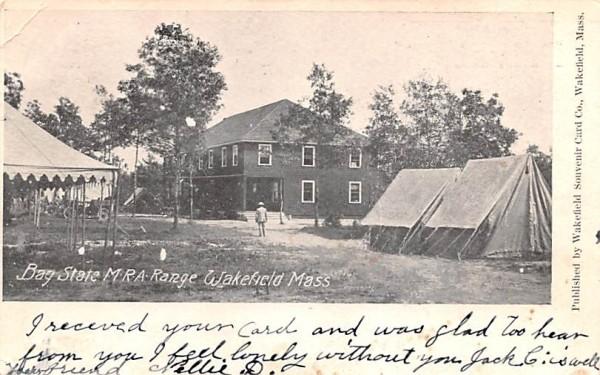 Bay State M.R.A. Range Wakefield, Massachusetts Postcard