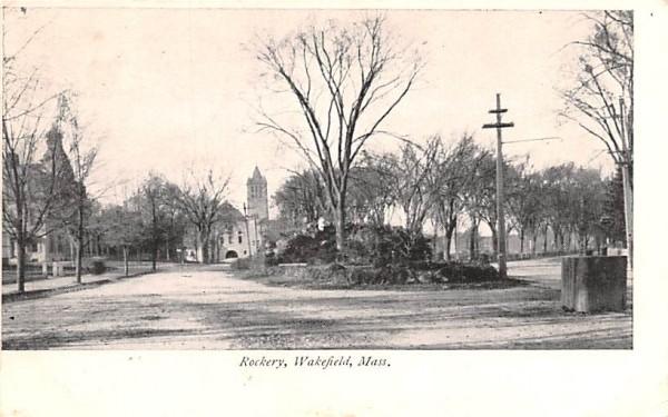 Rockery  Wakefield, Massachusetts Postcard