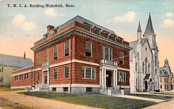 Y.M.C.A. Building Wakefield, Massachusetts Postcard
