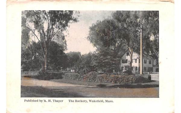 The Rockery  Wakefield, Massachusetts Postcard