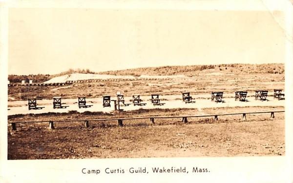 Camp Curtis Guild Wakefield, Massachusetts Postcard