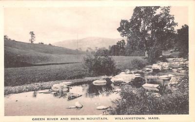 .Green River & Berlin Mountain Williamstown, Massachusetts Postcard