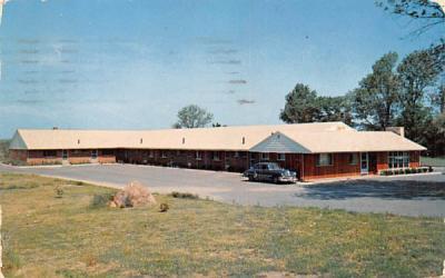 Country Side Motel West Peabody, Massachusetts Postcard