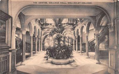 The Centre Wellesley, Massachusetts Postcard