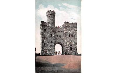 Bancroft Tower Worcester, Massachusetts Postcard