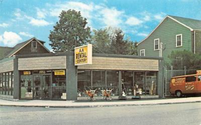 A.A. Rental Center Watertown, Massachusetts Postcard