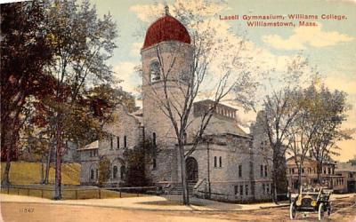 Lasell Gymnasium  Williamstown, Massachusetts Postcard