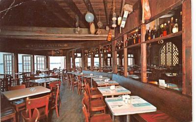 Landfall Restaurant Wood Hole, Massachusetts Postcard