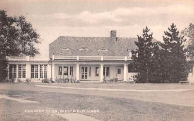 Country Club Westfield, Massachusetts Postcard