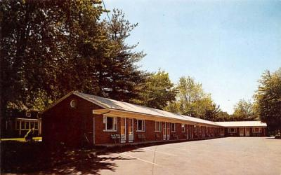 Elm Motel Westfield, Massachusetts Postcard